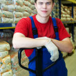 Warehouse worker - Stock Photo