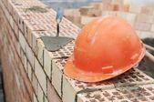 煉瓦工の建設用機器 — ストック写真