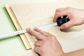 Process of measurement — Stock Photo