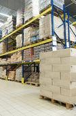 Store warehouse — Stock Photo