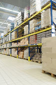 Store warehouse — Stock Photo