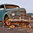 Old rusty car — Stock Photo