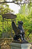 Estátua de gryphon — Fotografia Stock