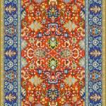 Persian detailed vector carpet — Stock Vector #3853127
