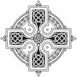 Royalty-Free Stock Vector Image: Vector celtic cross traditional ornament