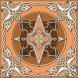 Ancient old russian vector pattern - Stock Vector