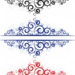 Royalty-Free Stock Vector Image: Lace borders
