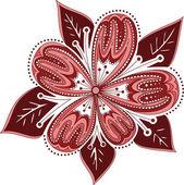 Ornament flower — Stock Vector