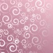 Pink lace background - Stock Vector