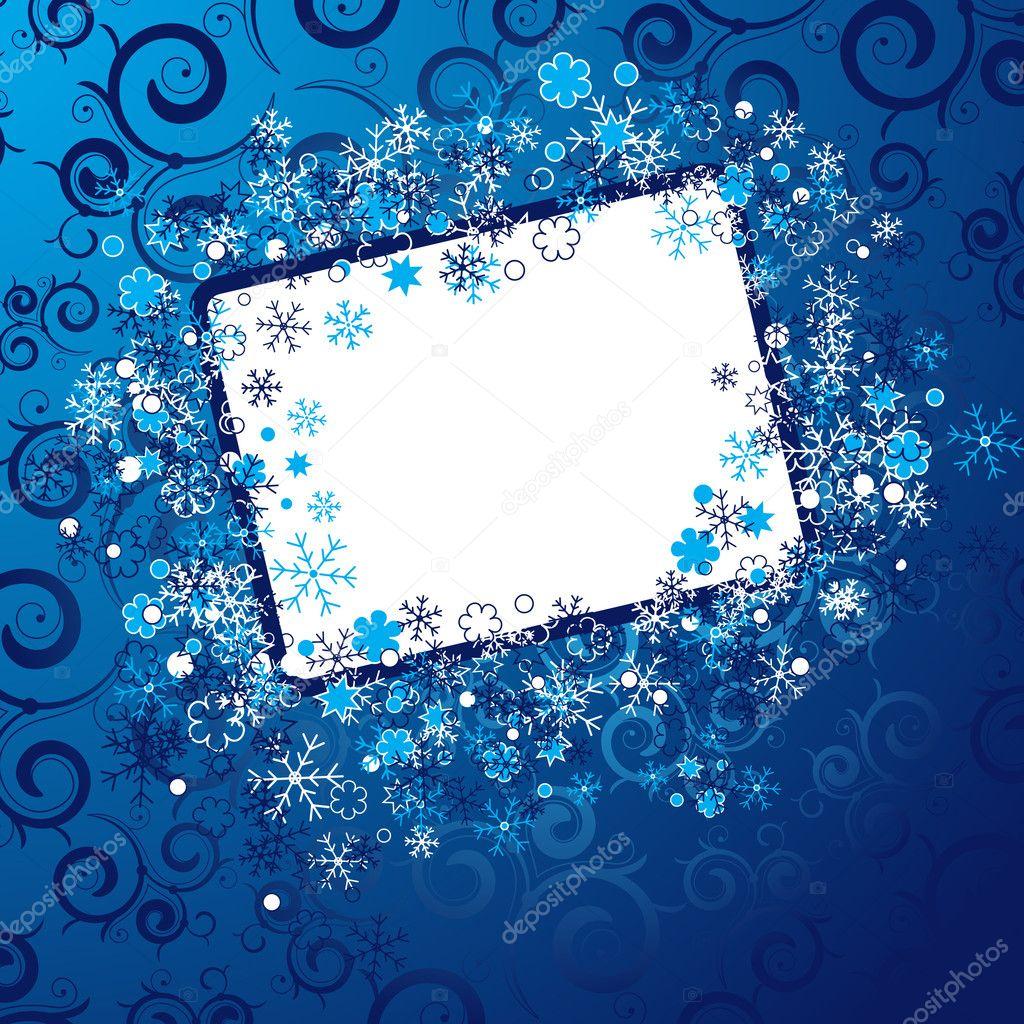 Christmas frame — Stock Vector © helenka #2778251