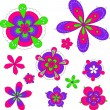 Royalty-Free Stock Vector Image: Isolated flowers