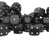 Playing dices — Foto Stock