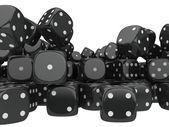 Spelen dobbelstenen — Stockfoto