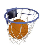 Basketball-elemente — Stockfoto