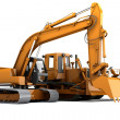 Stock Photo: Road machinery