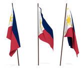 Flag of Philippines — Stock Photo