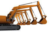 Diggers — Stock Photo