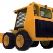 Stock Photo: Bulldozer on wheels