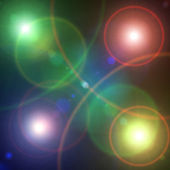 Light dots — Stock Photo