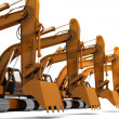 Stock Photo: Diggers