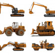 Foto Stock: Road machinery