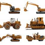 Road machinery — Stock Photo