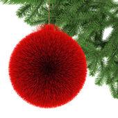 Color christmas ball — Stock Photo