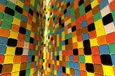 Wall of mosaic — Stock Photo