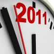 New Year's clock — Stock Photo #3710225