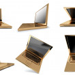 Foto de Stock  : Golden notebook