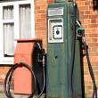 Stock Photo: Vintage gas pump