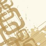 Beige abstract background — Stock Vector