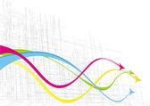 Bright arrows — Stock Vector