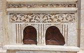 деталь висячие церкви аль-муалляка в каире. — Стоковое фото
