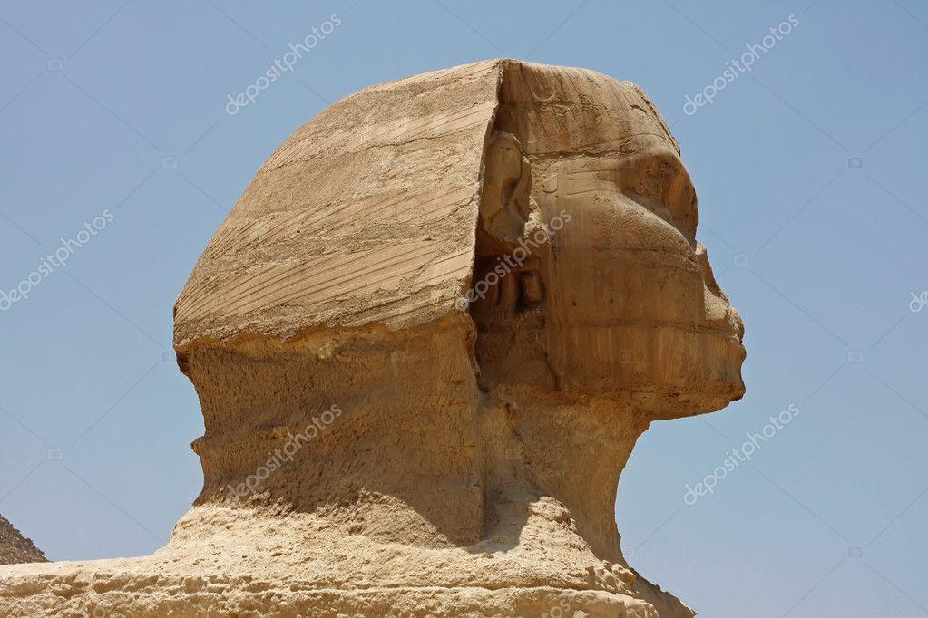 Голова сфинкса