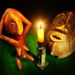 figura y máscara — Foto de Stock   #2910600