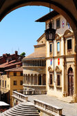 Center Of Arezzo — Stock Photo