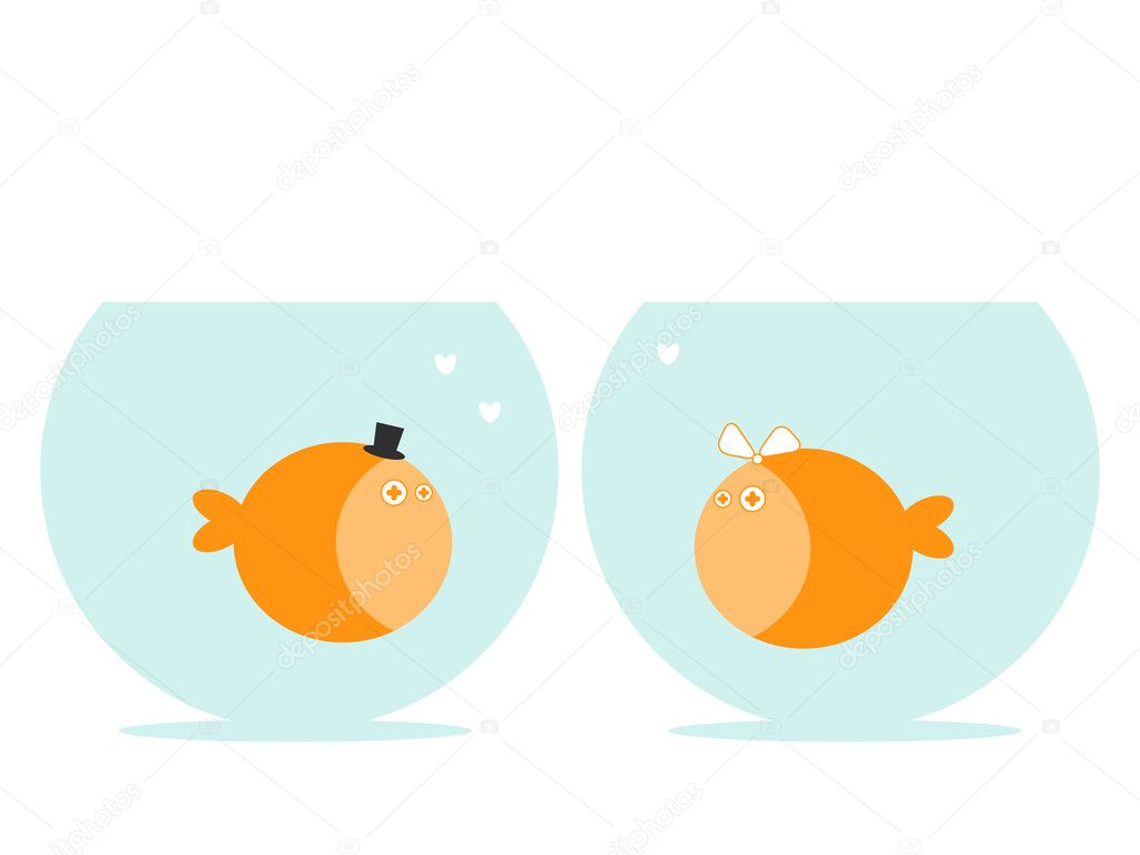 Love fish stock vector svinka 3153480 for I love the fishes