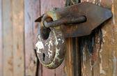 Old rusty lock — Stock Photo