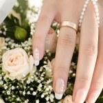 Bride's hand — Stock Photo #3801426