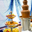 Royalty-Free Stock Photo: Chocolate fondue