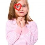 Girl in love — Stock Photo #3804093
