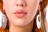 Woman's Lips — Stock Photo