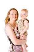 Mutlu anne — Stok fotoğraf