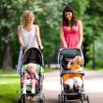 mães felizes — Foto Stock