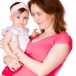 Mother with baby — Stock Photo #3890744