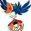 Vector de stock : Cuckoo Clock