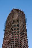 Gratte-ciel en construction — Photo