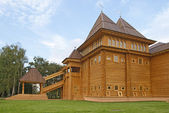 Wooden palace in Kolomenskoe, Moscow — Стоковое фото