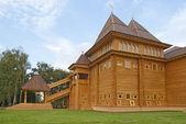 Wooden palace in Kolomenskoe, Moscow — Zdjęcie stockowe